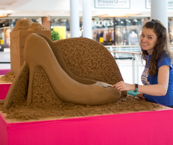 Sand Sculptor Hire Uk In Eye