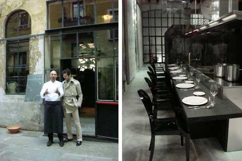 Andrea Ribaldone e Alessio Guidelli - Scholtès Restaurant