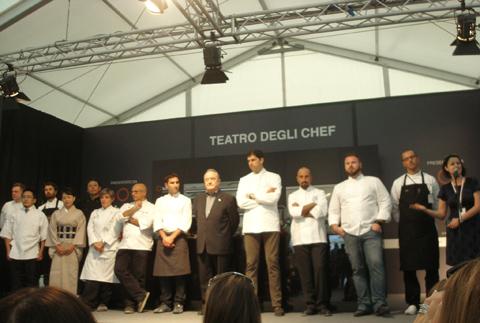 gli Chef alla conferenza di inaugurazione di Taste of Milano 2010