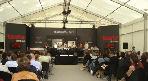 Taste of Milano 2010 - il Teatro degli Chef