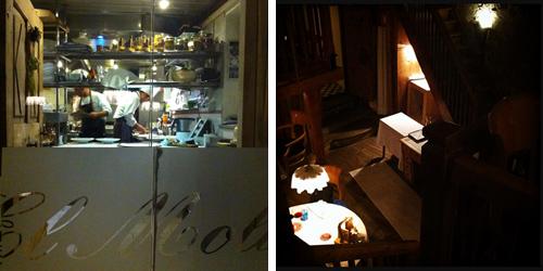 Cucina e Sala del ristorante El Molin dello chef Alessandro Gilmozzi | ©foto Sandra Longinotti