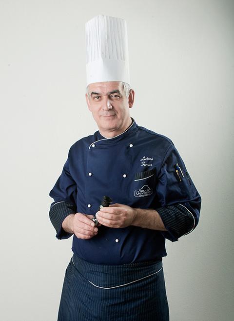 il Maestro Luciano Ferrari della Carpigiani Gelato University