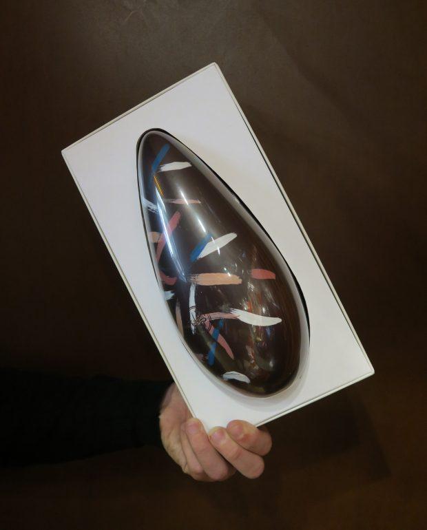 la riedizione di n'Uovo di Pasqua di Guido Gobino | ©foto Sandra Longinotti