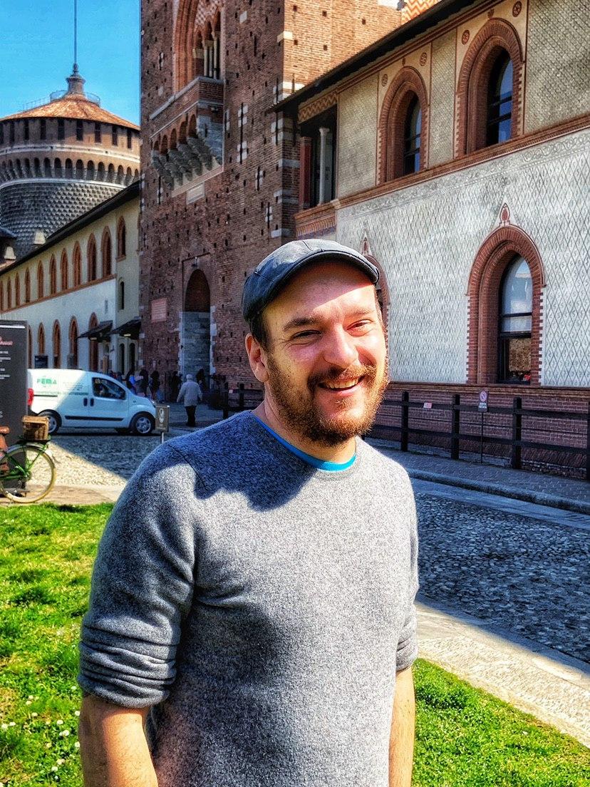 Pao al Castello Sforzesco per la conferenza stampa di Orticola 2019 | ©foto Sandra Longinotti
