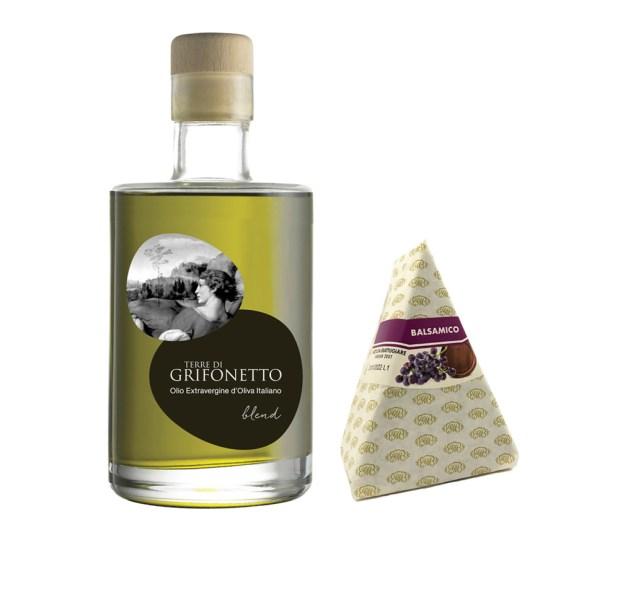 Olio e Aceto: Terre di Grifonetto + Mengazzoli