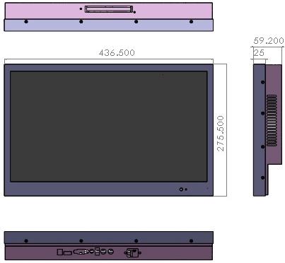 18.5 吋遊覽車專用液晶 » 三明電子有限公司