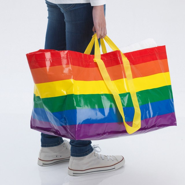 ikea rainbow bag