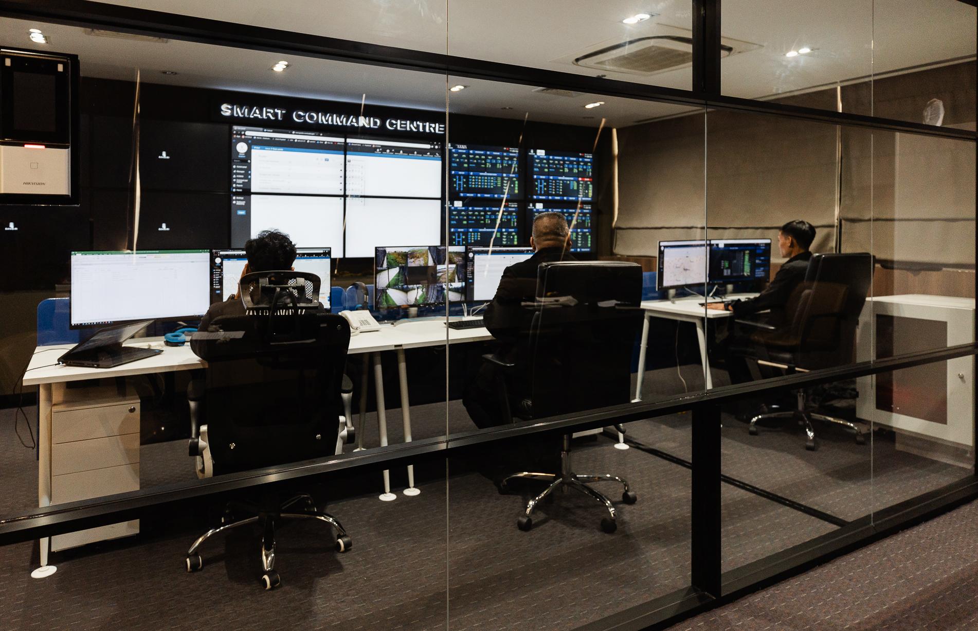 smart command centre sansiri