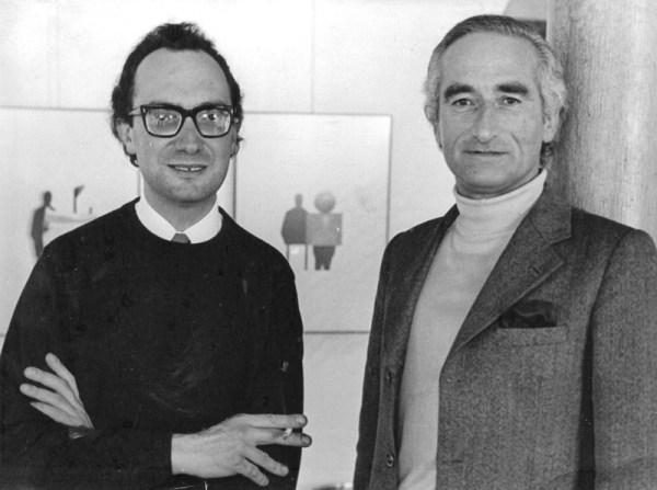 António Areal and Cruzeiro Seixas - May, 1975
