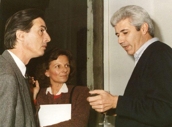 Justino Alves, Ana Maria and Justo Gonzalez Bravo, 1987