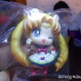 Close up of Super Sailor Moon figure.