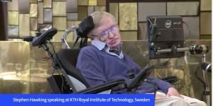 Stephen Hawking en KTH