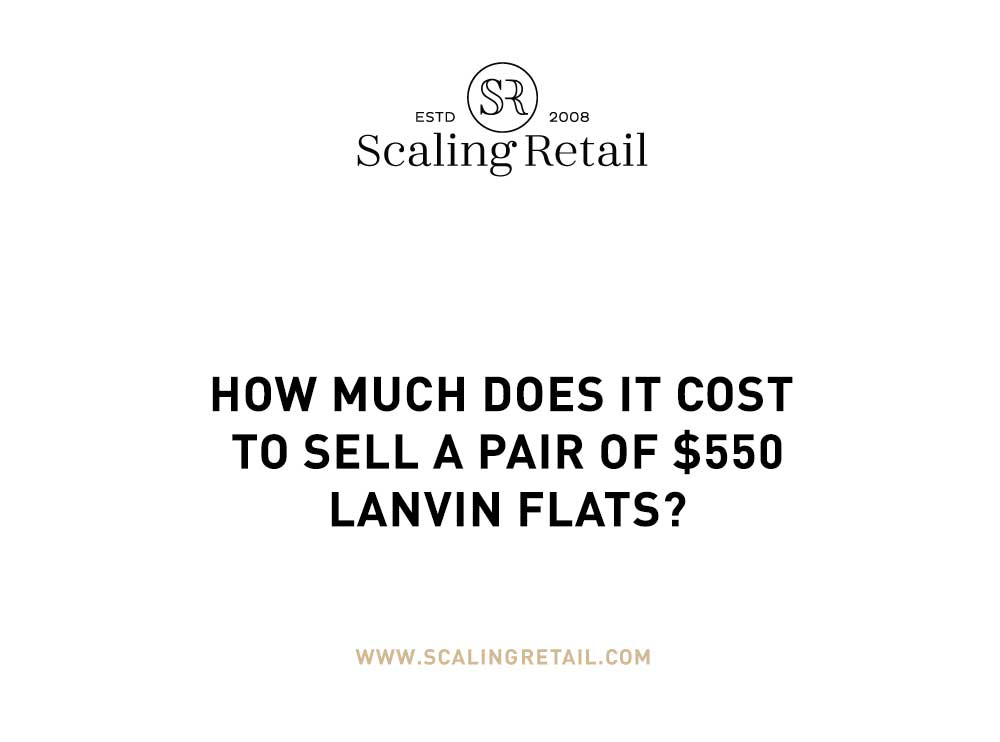 How much profit comes from Lanvin Flats