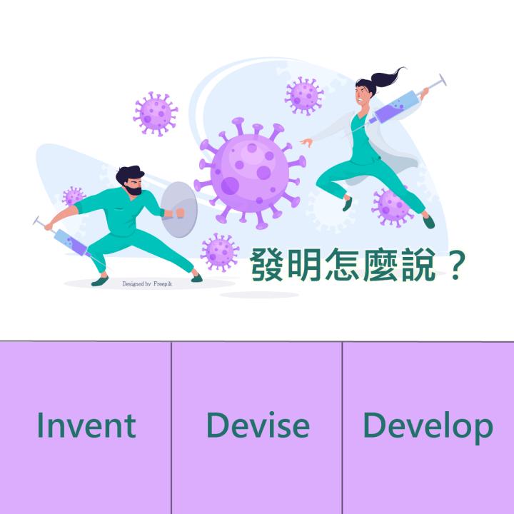 1分鐘學外語 | 發明、創造的英文要怎麼說?