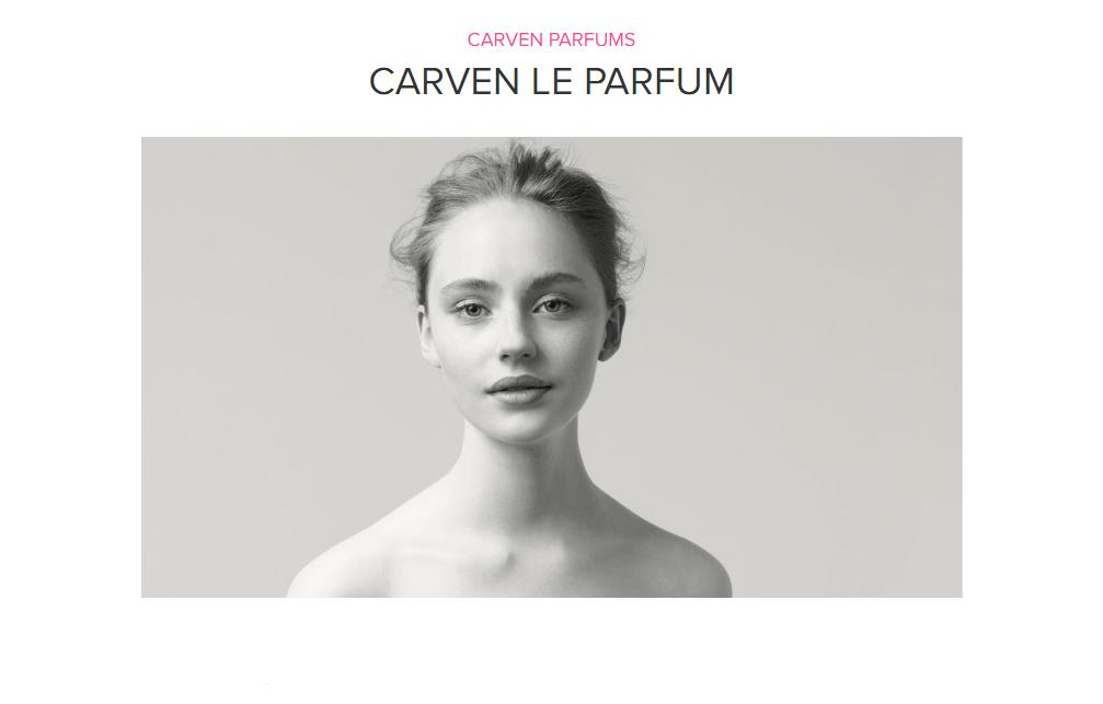 Carven Le Parfum by Carven Parfums ad