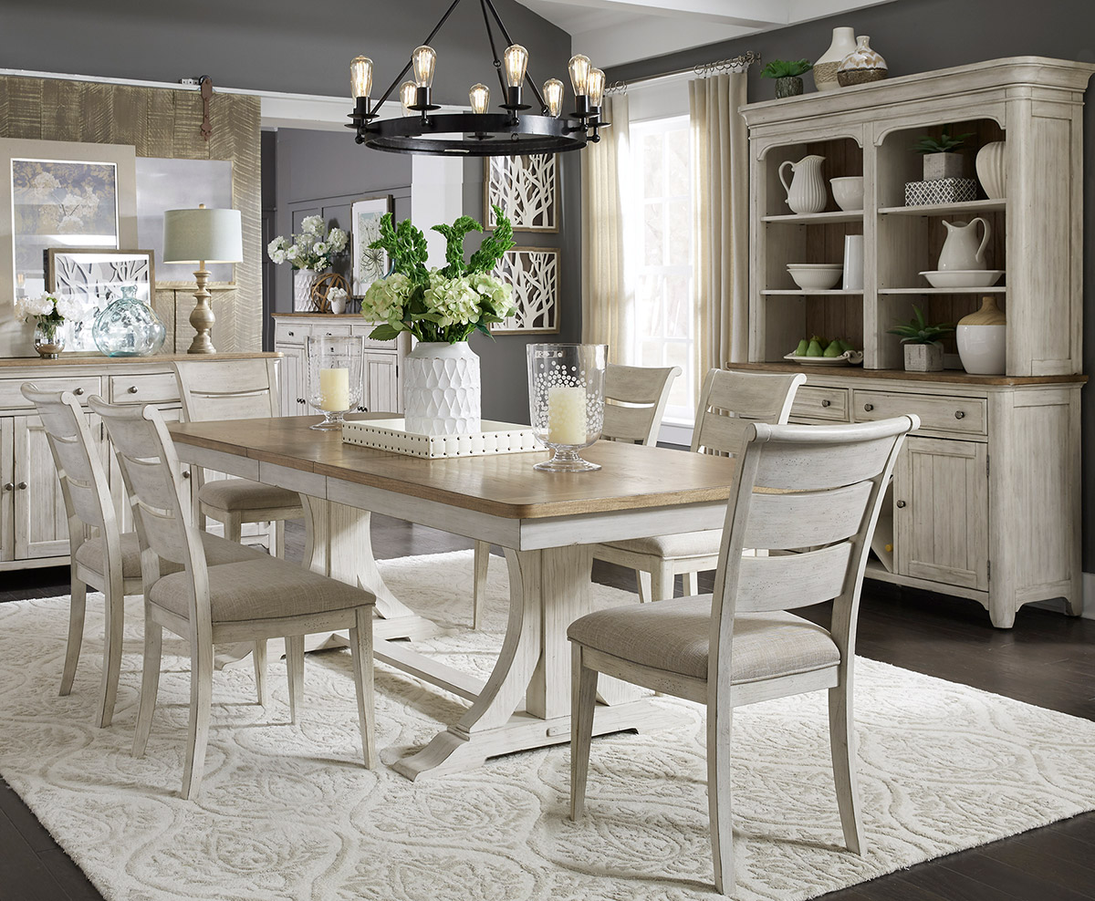 defining your design style - dining room in soft neutrals