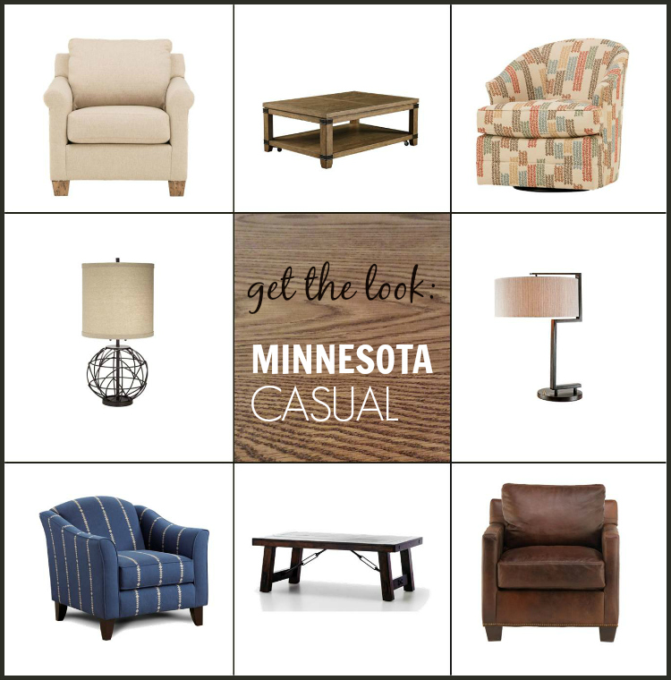 Get the Look - Minnesota Casual. Love this moodboard!