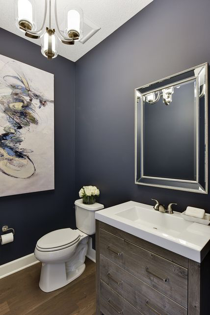 Best Paint Colors For Dark Powder Rooms