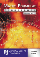Maths Formulas Pocket Book