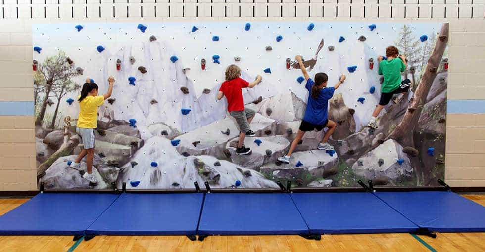 Get Them Climbing the Walls The Hows and Whys of Rock Climbing