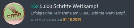 virtuelles Abzeichen von Schrittmeister.de