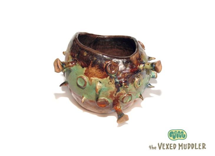 Virus vessel by Peggy Muddles
