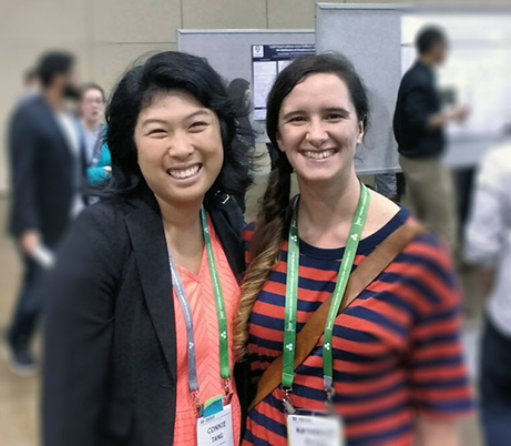 The-author-and-Dr-Katherine-Elvira-at-the-100th-Canadian-Chemistry-Conference-and-Exhibition.