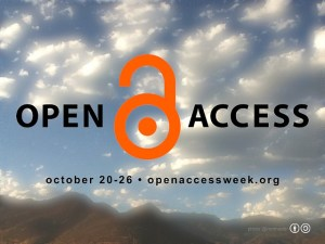 Image credit: Rom Mader, Free Poster for OA week, Blue Sky Rural Mountains Version, Flickr, CC BY-SA