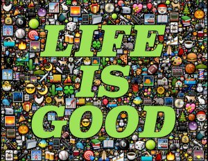Image credit: Life is good by John Hain, Flickr, CC BY