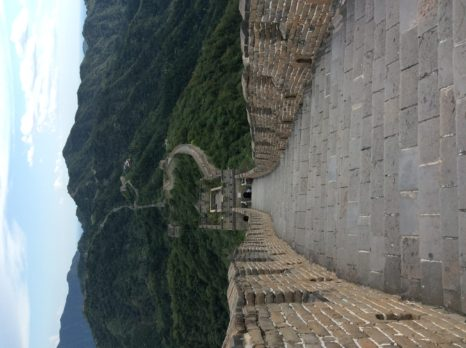 The Great Wall of China from when ScienceOpen last visited! (credit: Stephanie Dawson)