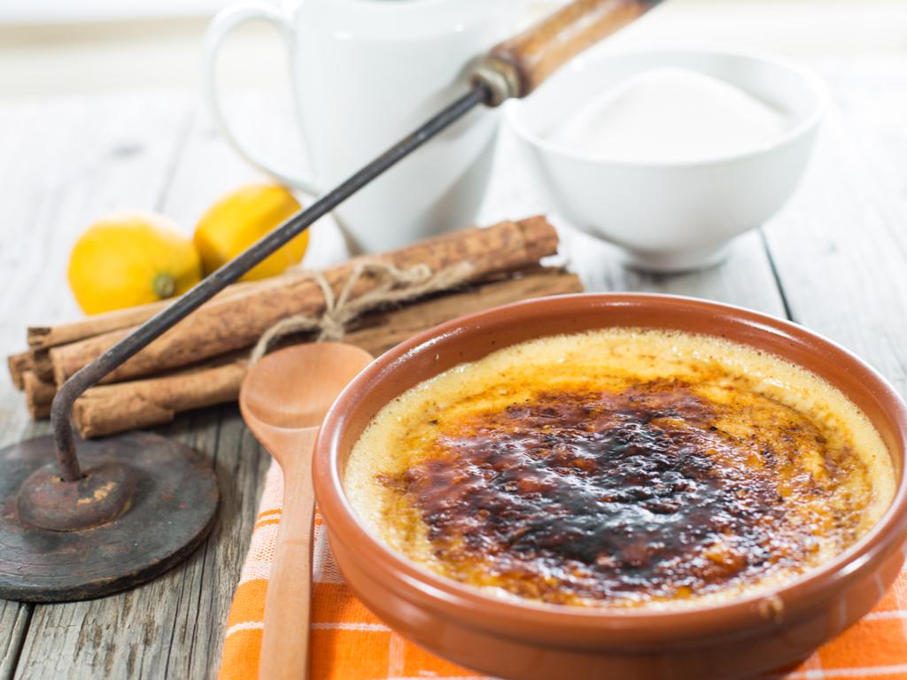 Diferencias entre natillas, crema catalana y crème brulée
