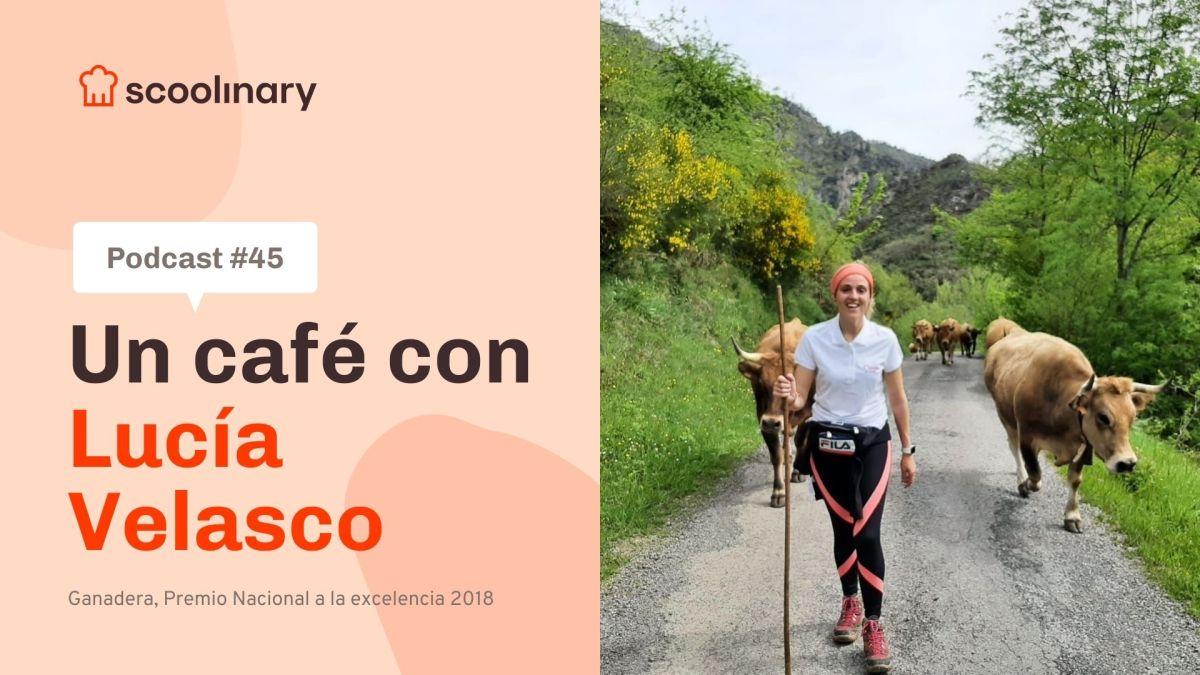 Un café con Lucía Velasco – Explotación ganadera sostenible