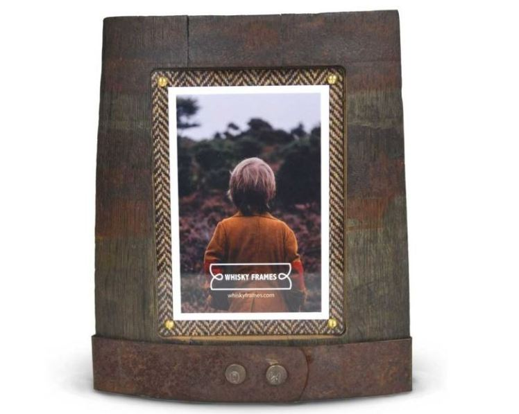 Whisky barrel picture frame - a whisky barrel gift from The Scotch Whisky Experience