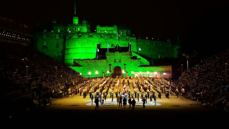 The Royal Edinburgh Military Tattoo - Julie Trevisan-Hunter (Scotch Whisky Experience)