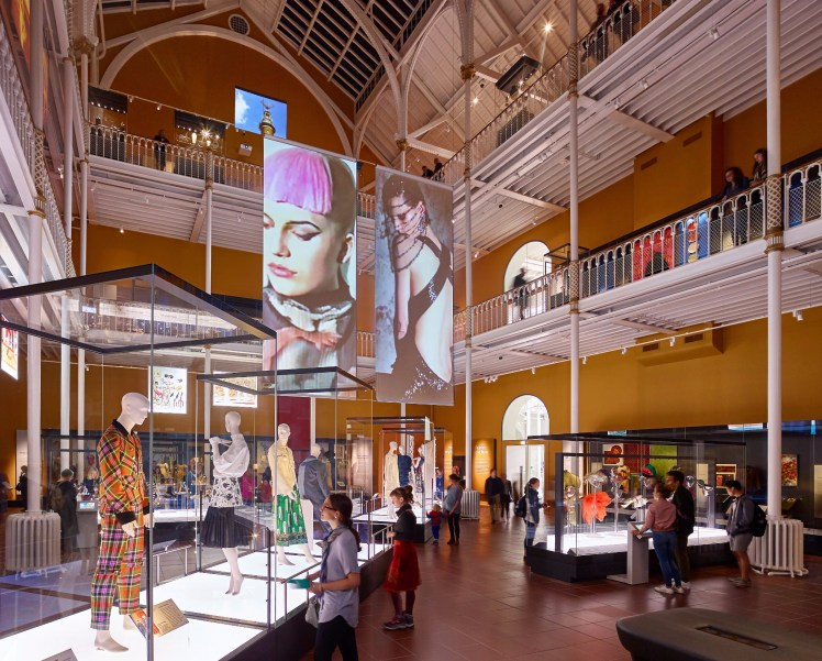 Art and Design galleries at the National Museum of Scotland. Copyright Andrew Lee (1) - Copy