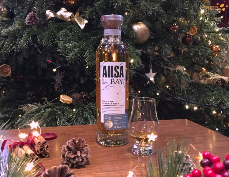 Ailsa Bay is the Lowland Whisky here at the Scotch Whisky Experience for December