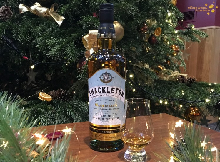 Shackleton is our Blended whisky for December's whiskies of the month here at the Scotch whisky experience