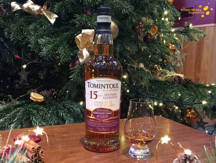 Tomintoul 15 year old - the Scotch Whisky Experience blog
