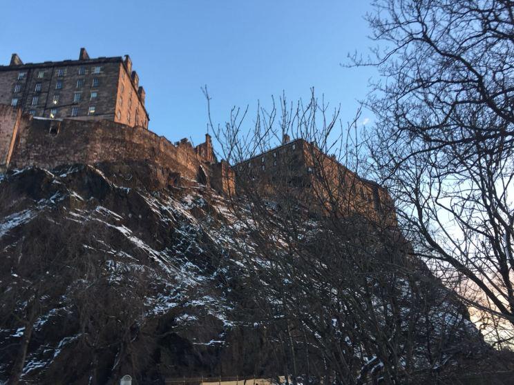 Eilidh - Edinburgh Castle in the morning sunshine
