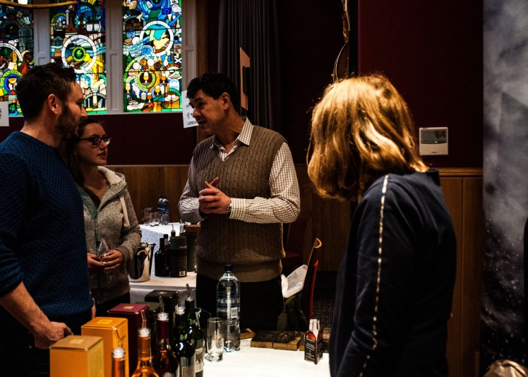 Dr Bill Lumsden - Scotch Whisky Experiernce Distillers Fair