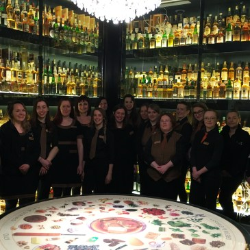 Women of the Scotch Whisky Experience, on International Women's Day 2018
