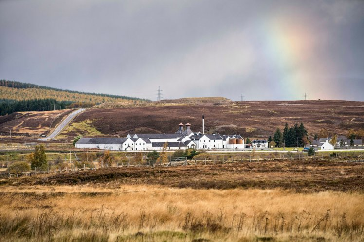 Dalwhinnie distillery (credit and copyright: Diageo)