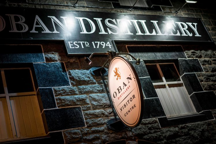Oban Distillery (credit and copyright: Diageo)
