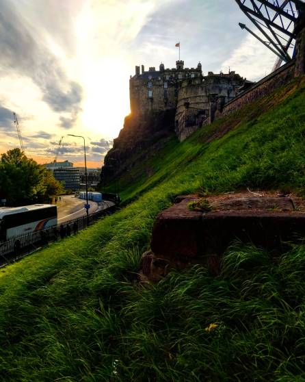 Edinburgh Castle  (credit and copyright: Morena Lanzo)