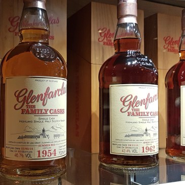 Glenfarclas family cask at the Scotch Whisky Experience