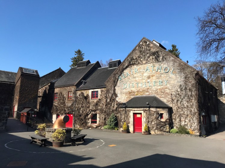 Blair Athol before (credit and copyright: Blair Athol distillery)