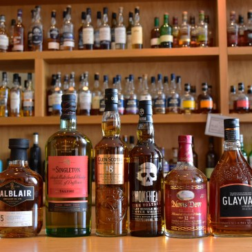 Whiskies of the Month May 2019, at the Scotch Whisky Experience
