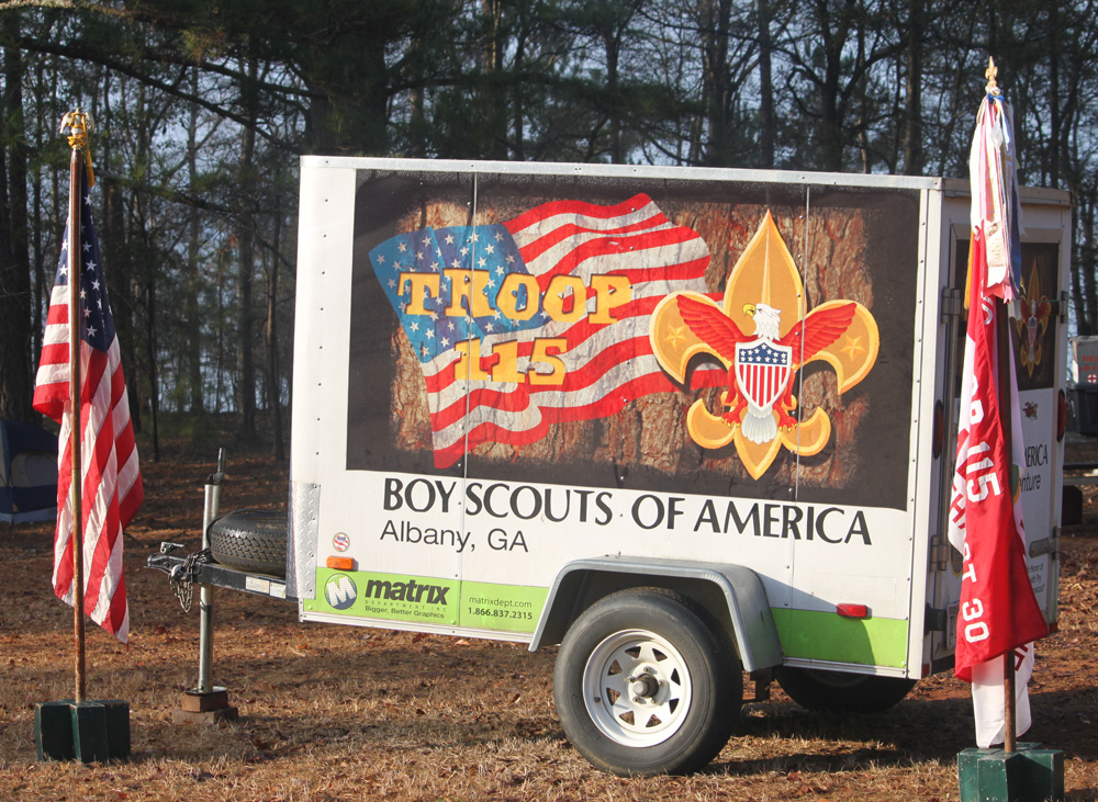 How to prevent your troop trailer from getting stolen