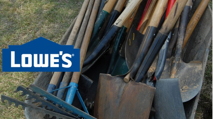Lowe's nails it! Helps pay for Eagle Scout service projects