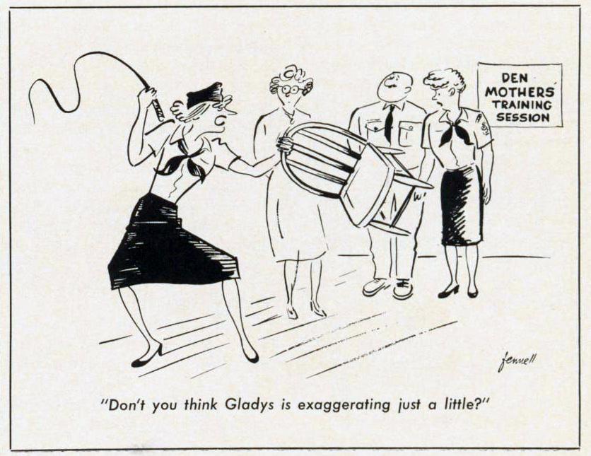 Cartoon-1960-Den-Mothers